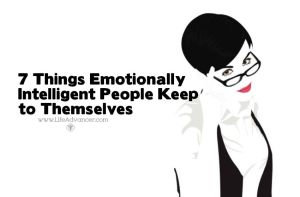 Emotionally Intelligent People Keep