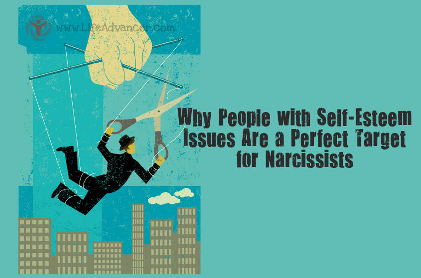 People Self-esteem Issues Narcissists