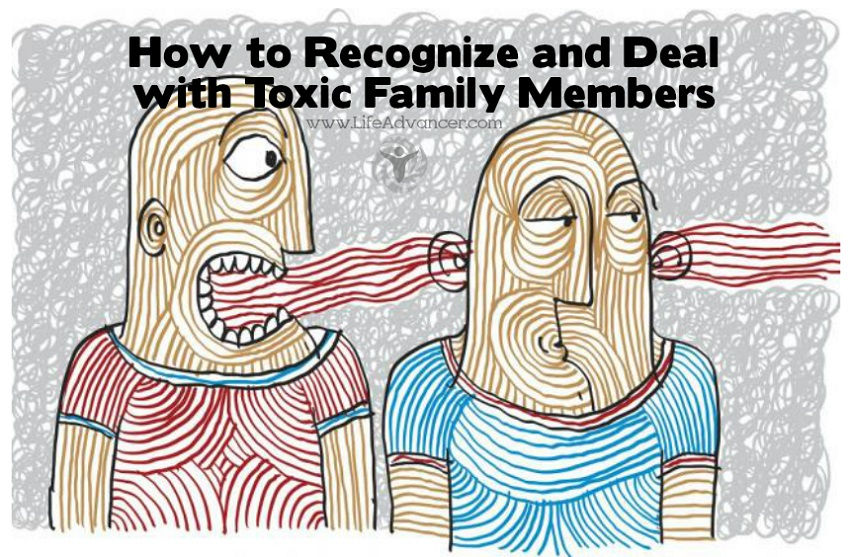 Toxic Family Members and How to Recognize Them