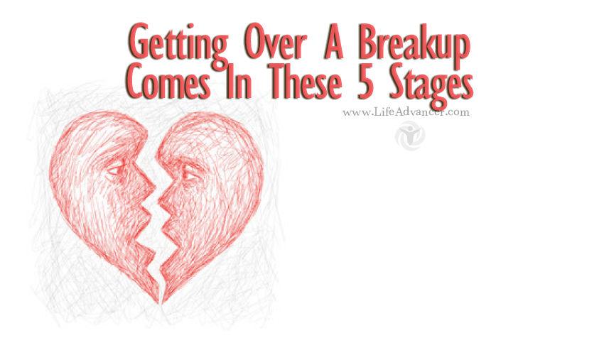 Stages Of Grief Break Up Rebound
