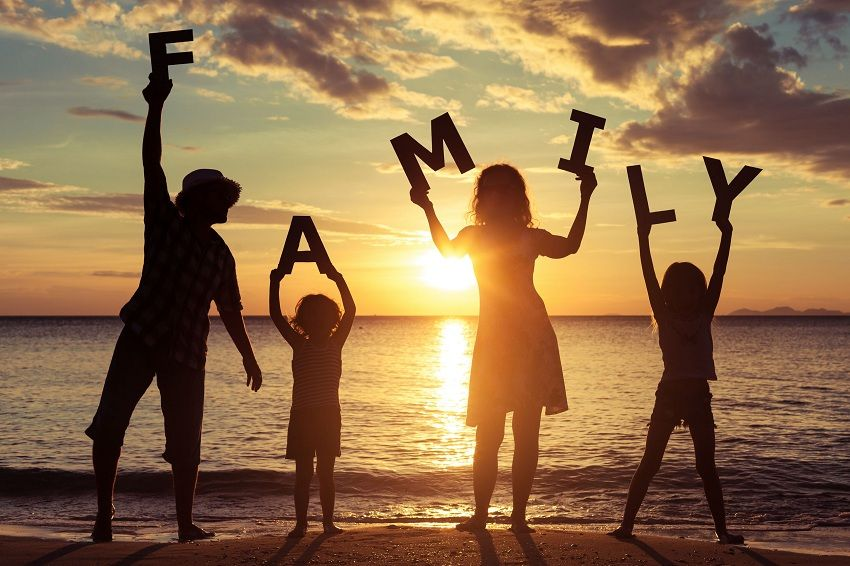 why is a strong school family relationship important for children