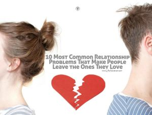 Common Relationship Problems