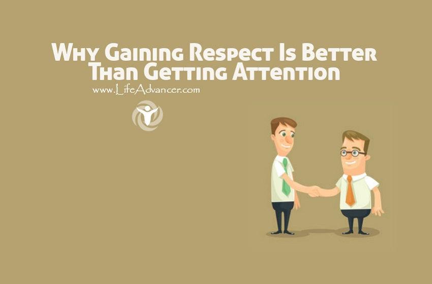Gaining Respect