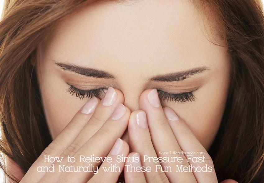 Relieve Sinus Pressure Fast Naturally