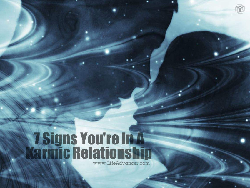 Karmic relationship signs