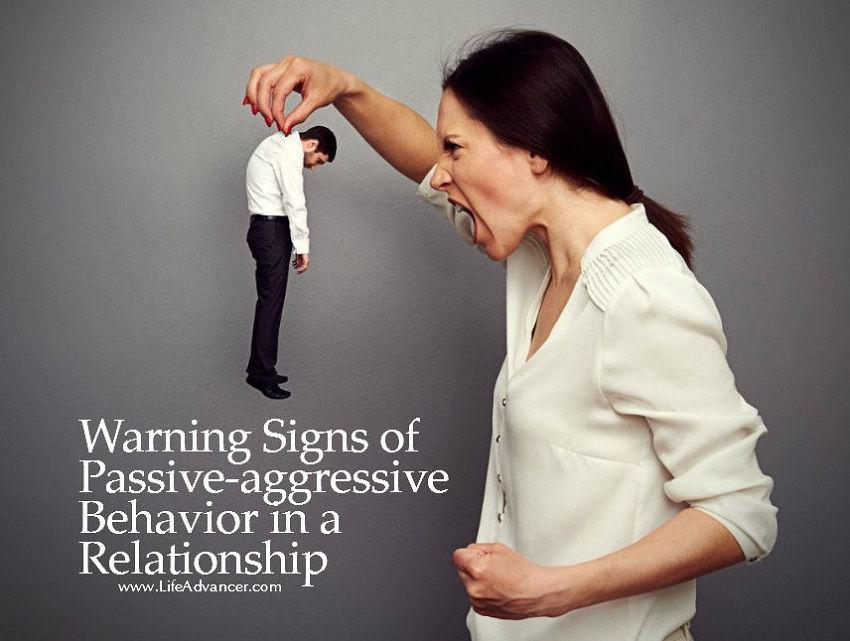 passive aggressive man in new relationship