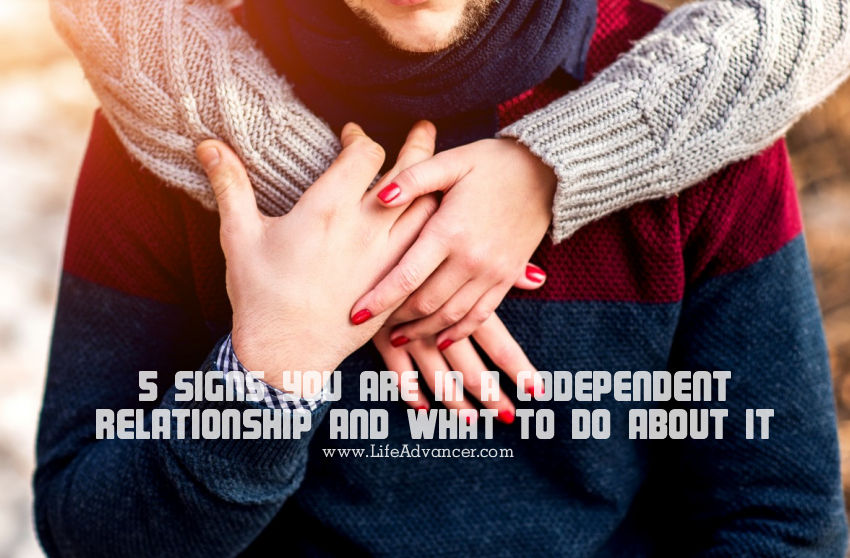 Signs of a codependent person