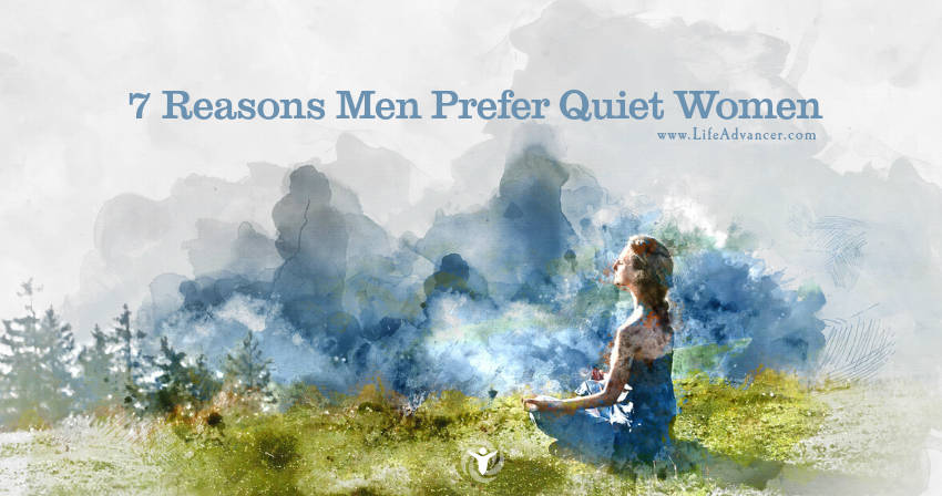 Men Prefer Quiet Women