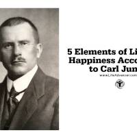5 Elements of Life and Happiness According to Carl Jung