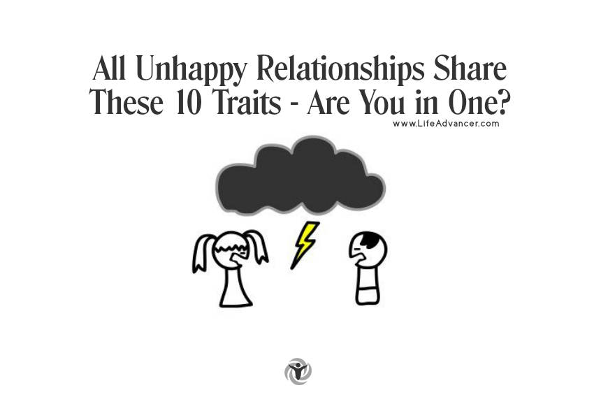 Unhappy Relationships Traits