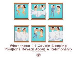 couple sleeping positions