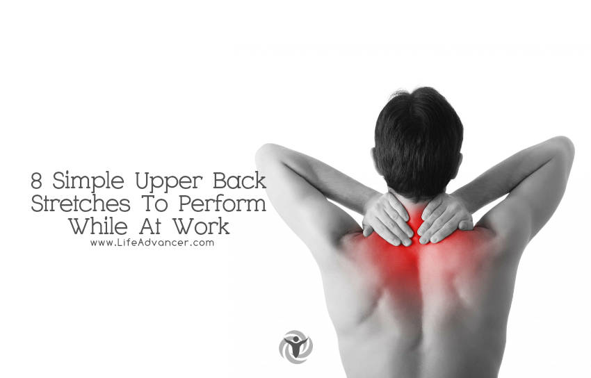 how to help upper back spasms
