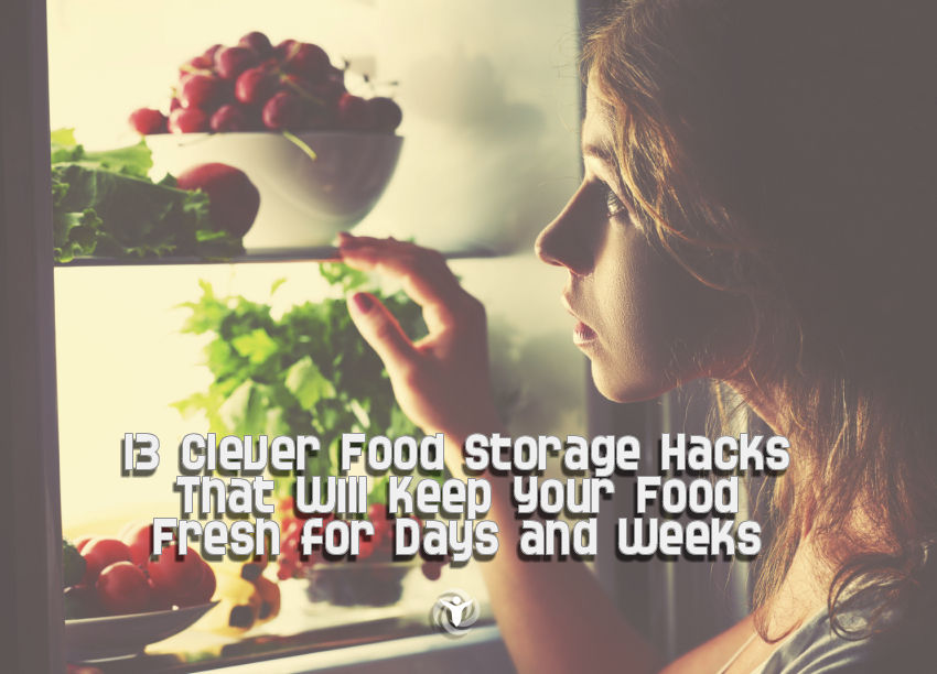 Food Storage Hacks