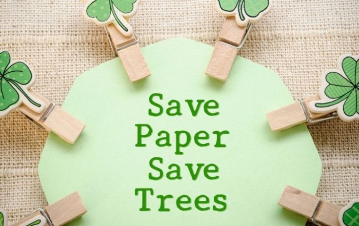 How to Save Trees