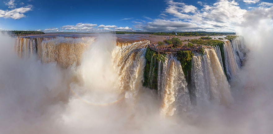 Iguazu Falls - bird's-eye view
