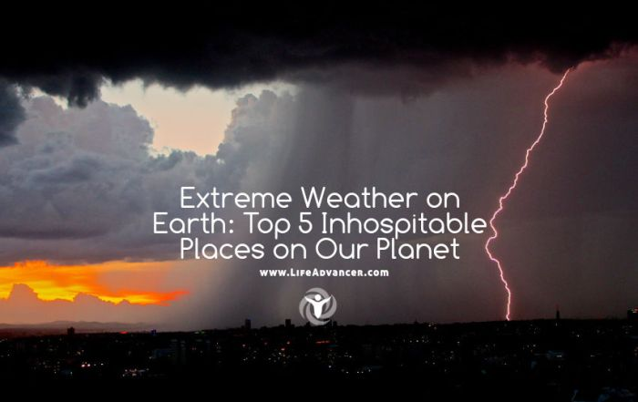 Extreme Weather on Earth