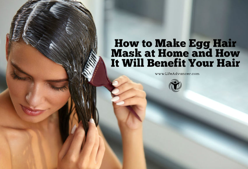 How to Make Egg Hair Mask at Home