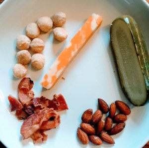 a few of my favorite low-carb snacks