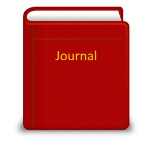 Red journal cover