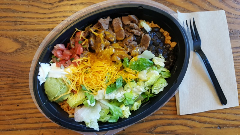 Is the Power Bowl an example of eating low-carb at Taco Bell? Maybe.