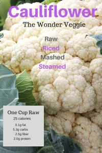 Cauliflower: the better mashed potato