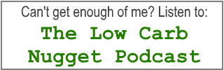 Button to Low Carb Nugget Podcast