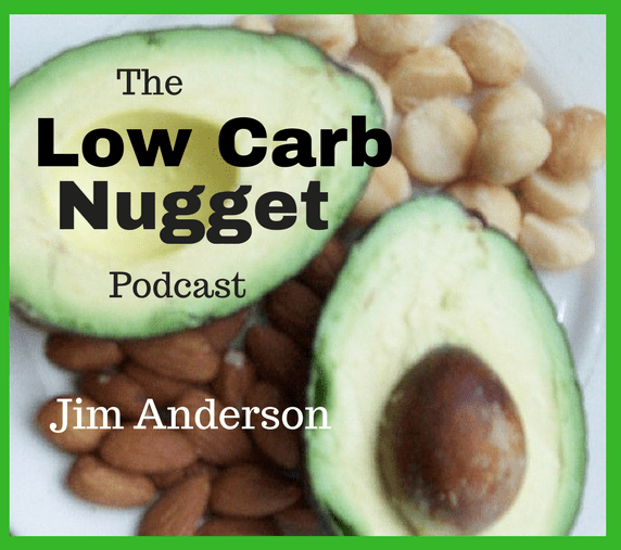 Low Carb Nugget podcast poster