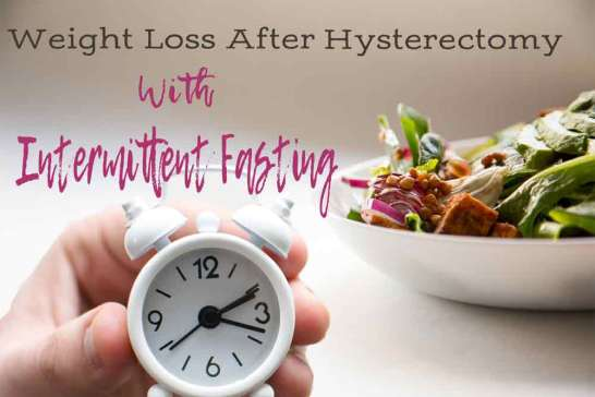 weight loss after hysterectomy