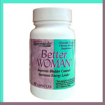 better woman improves bladder control