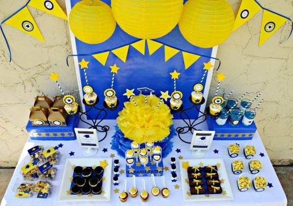 Graduation Party Idea Diy Framed Centerpiece