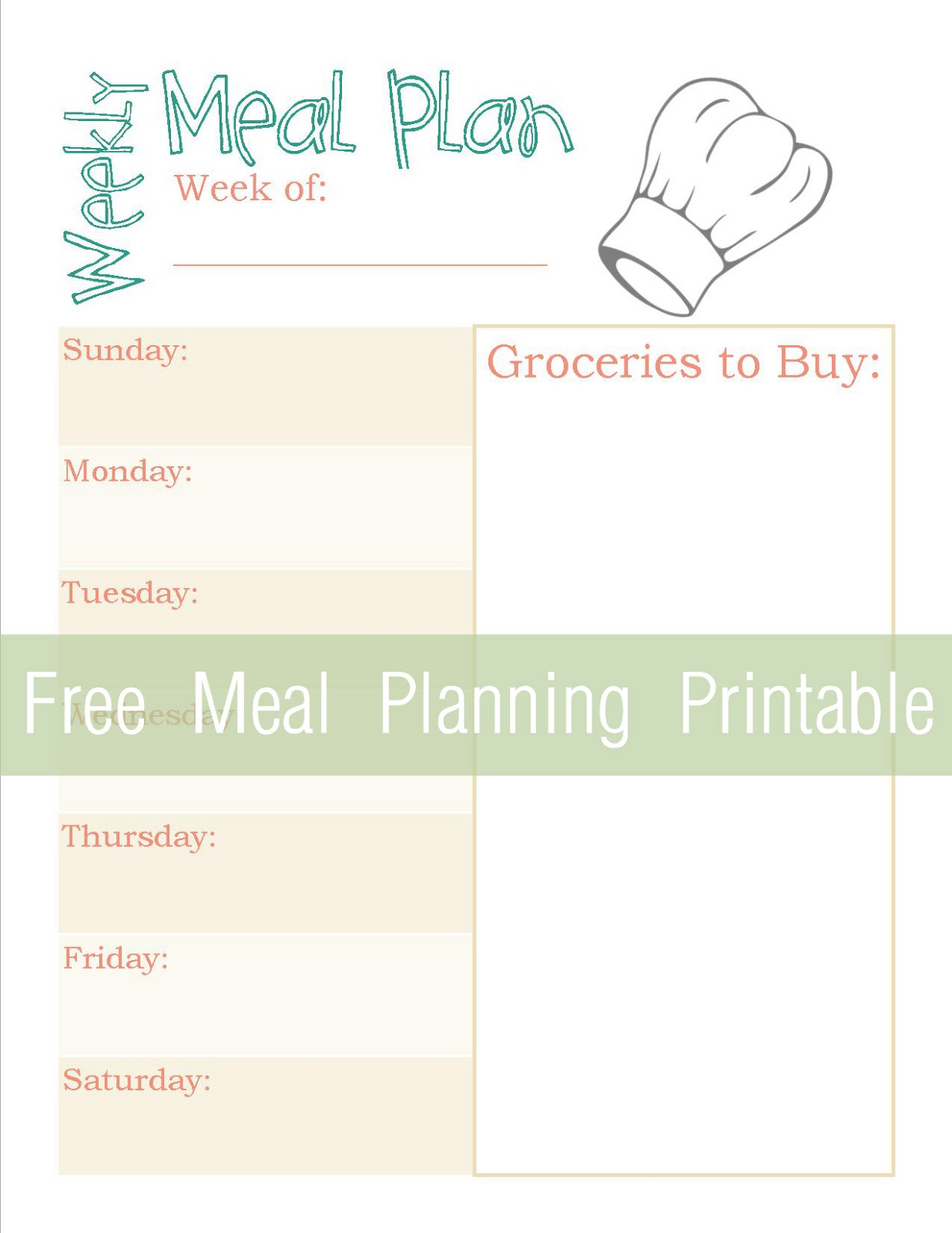 25 Printables For Organizing