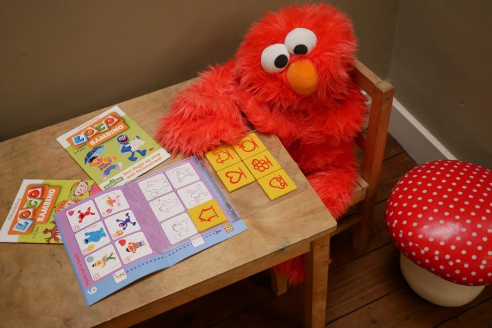 Loco Bambino Elmo Sesamstraat