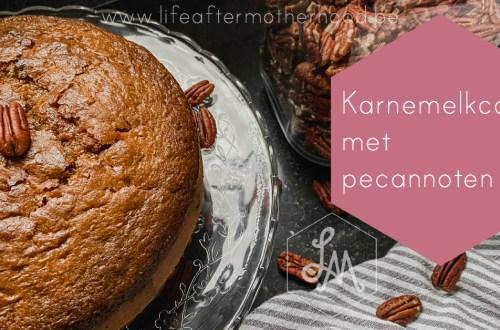 Karnemelk cake met pecannoten