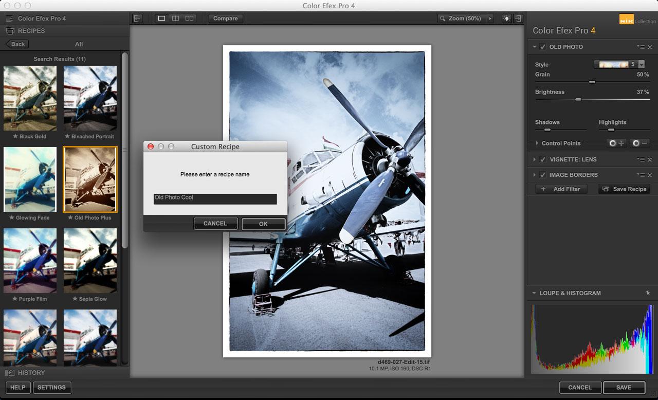 Color Efex Pro Old Photo effect