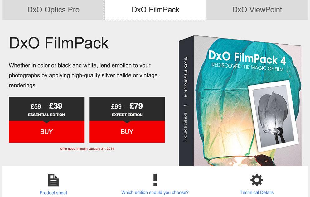 DxO FilmPack 4.5 review