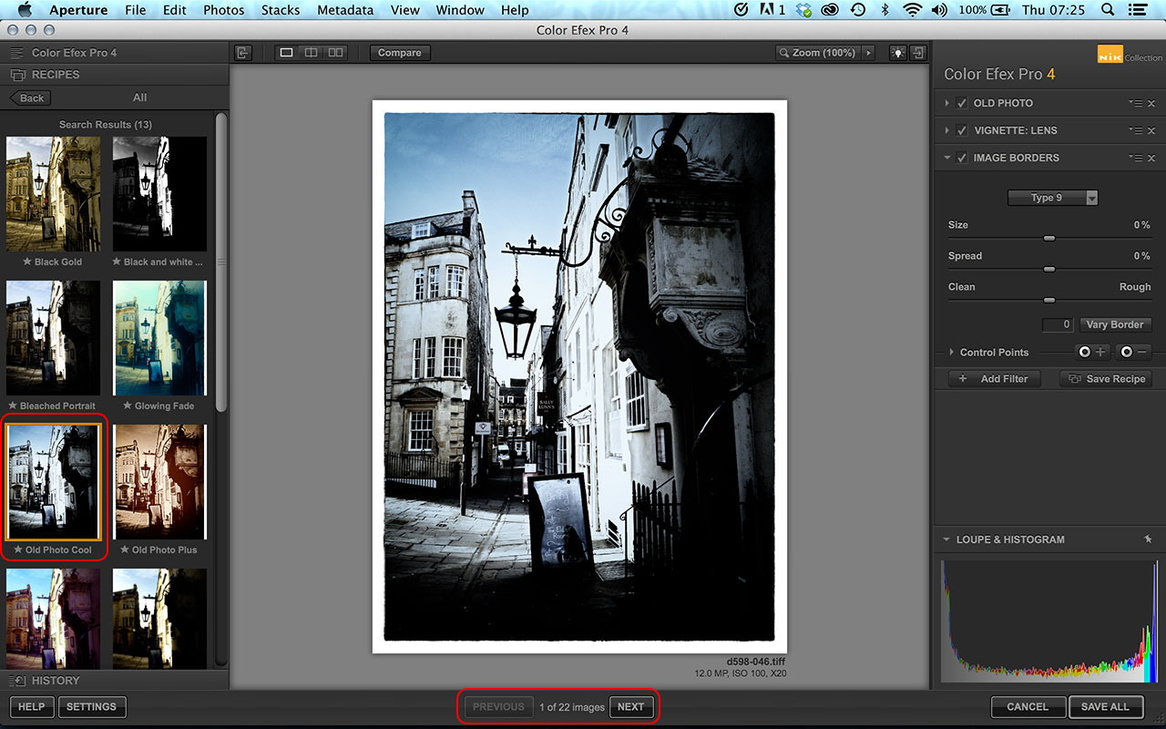 How to batch process special effects with the google nik for Free image editor