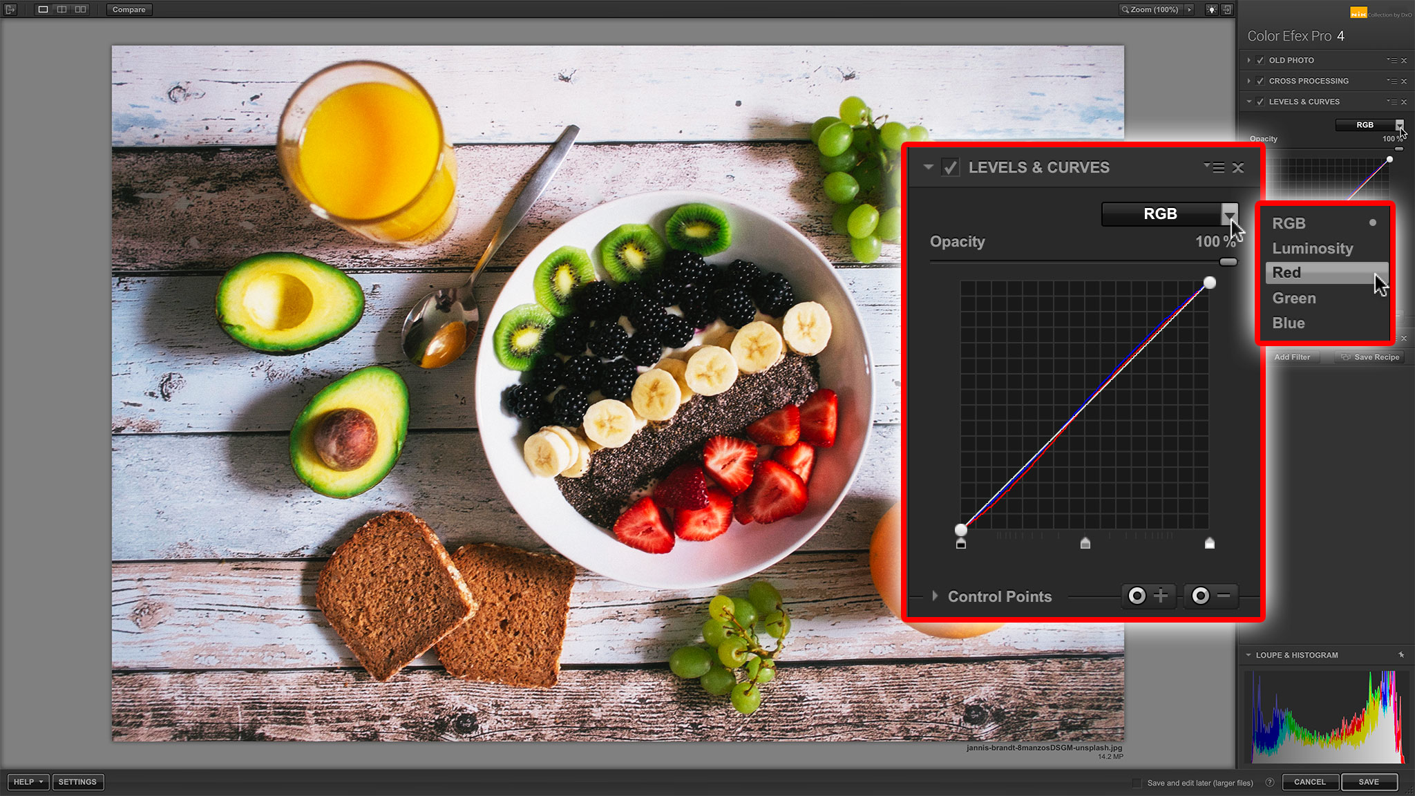 Color Efex Pro Recipes