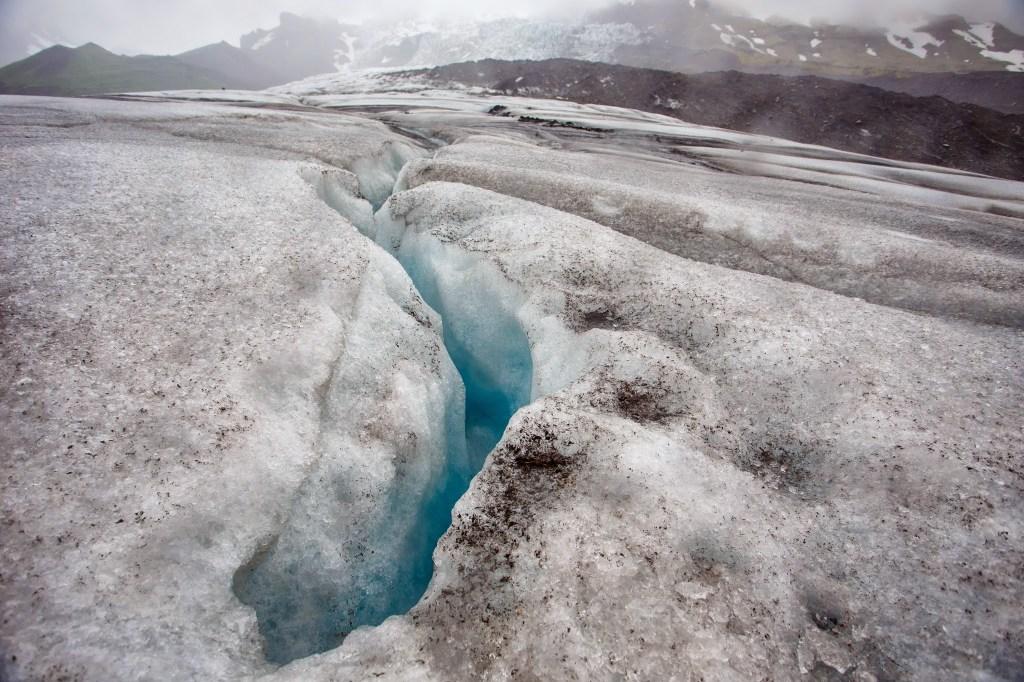 Another crevasse