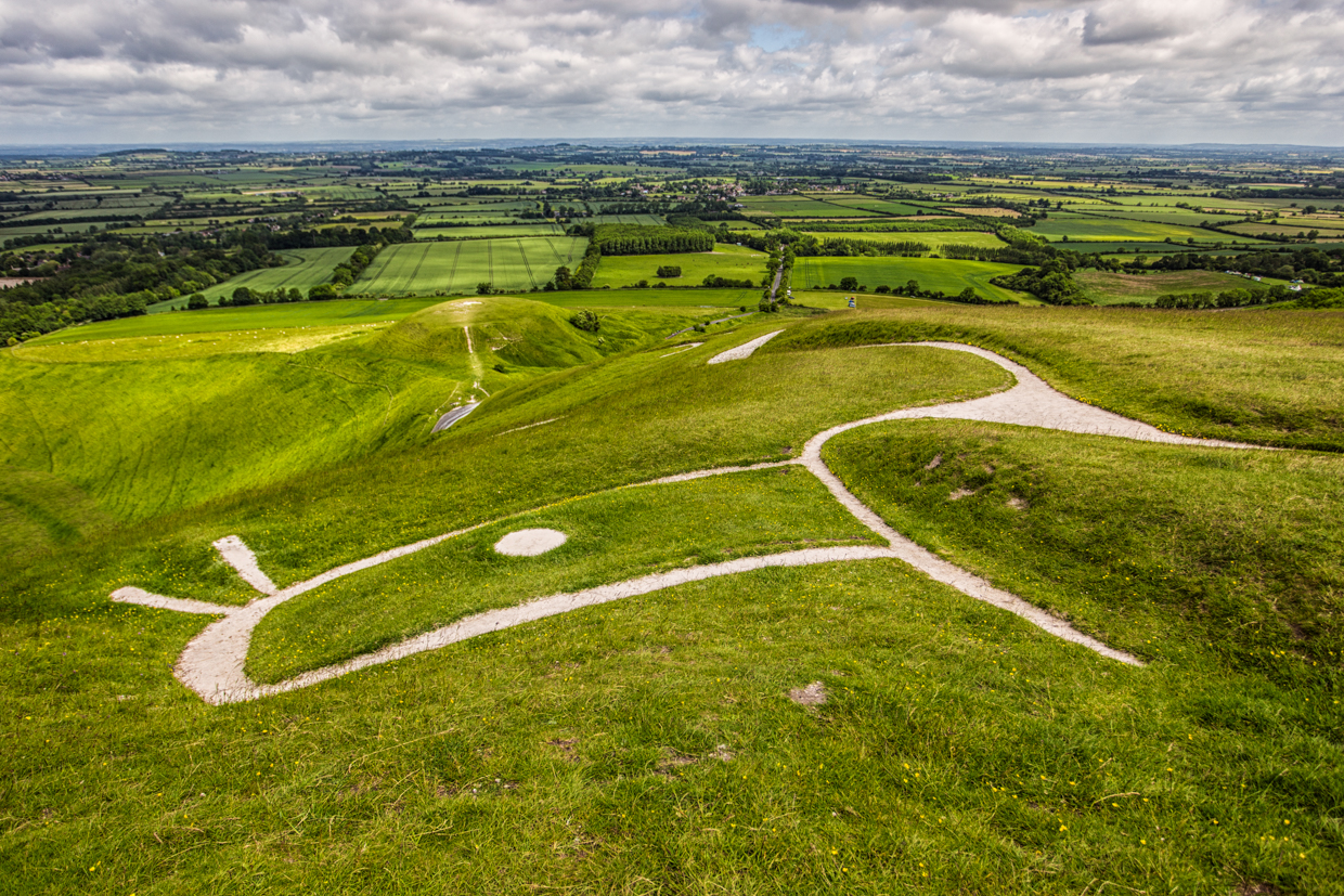 The big picture: the Uffington White Horse and the White Horse at Cherhill