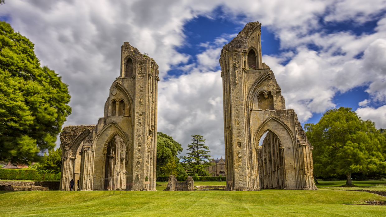 The Glorious Ruins of Glastonbury Abbey