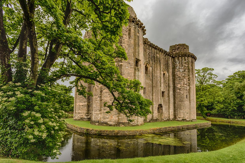 Nunney Castle — a neat little ruin