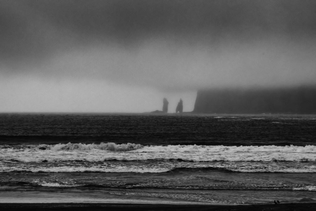 Sea stacks at Tjørnuvík