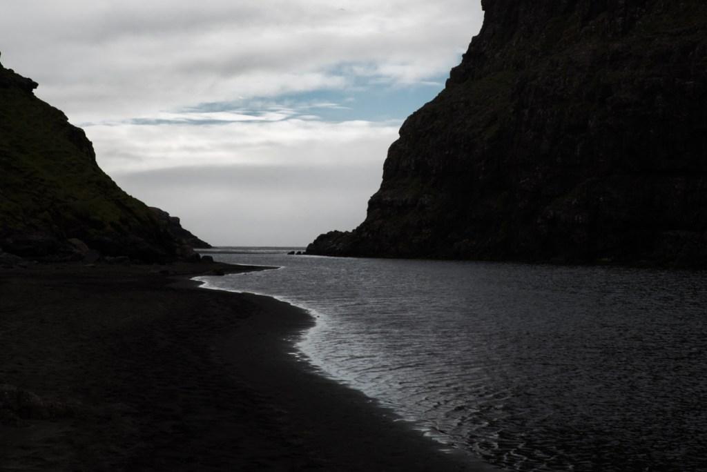 Saksun's lagoon