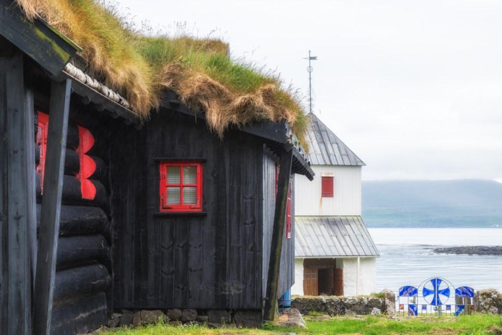 Kirkjubøargarður and St. Olav's church