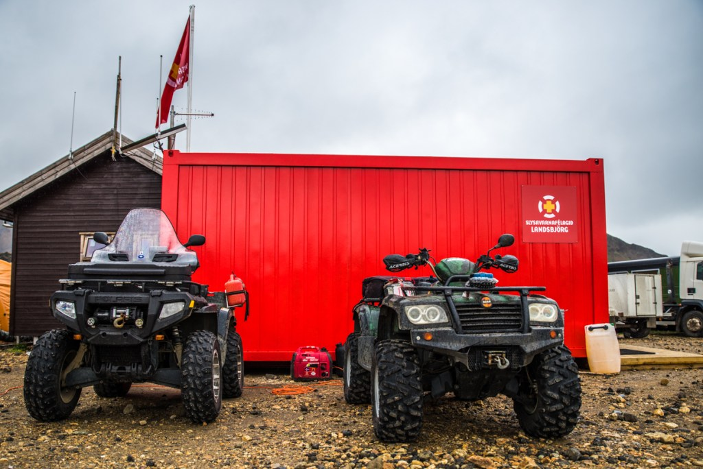 Landmannalaugar - Camp Site