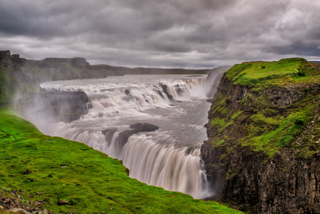 Gullfoss Waterfall (The Golden Falls)
