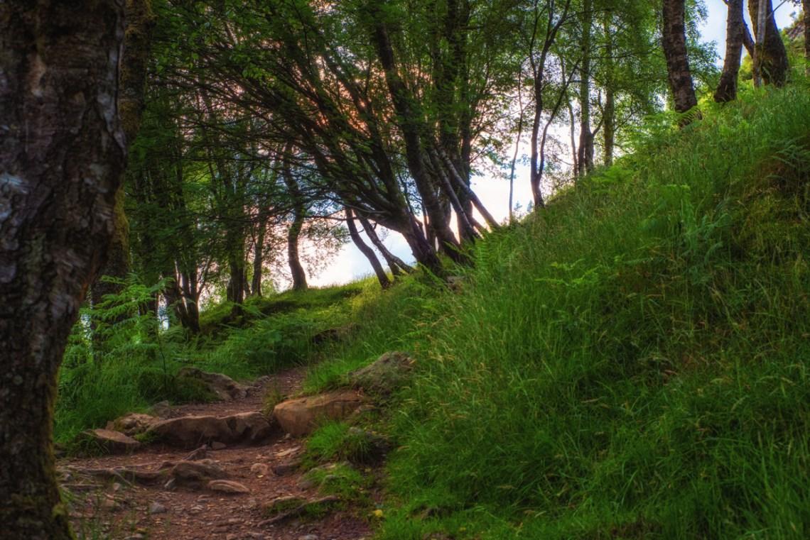 Ben A'an trail
