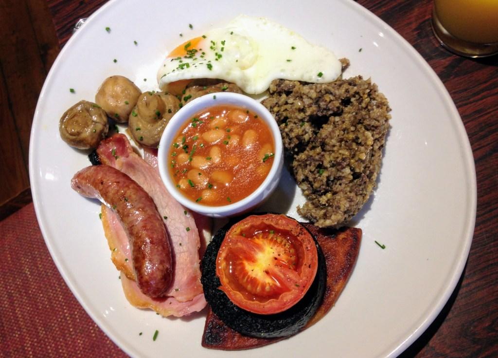 Breakfast at Clachaig Inn