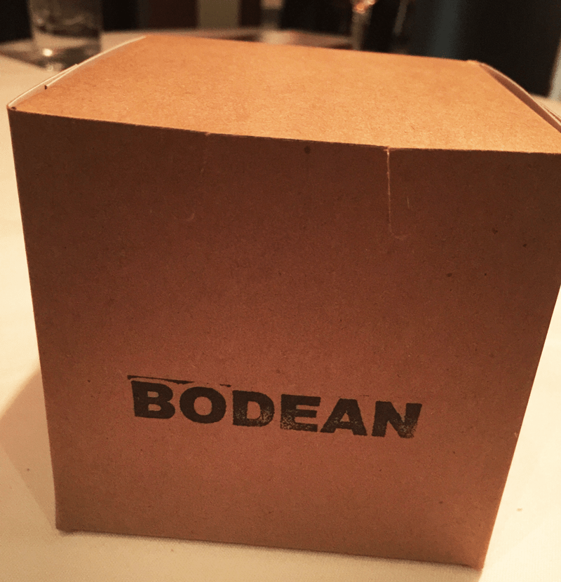 box at bodean seafood in tulsa
