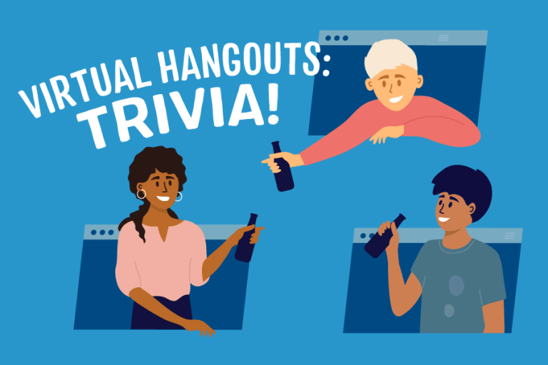 Virtual Hangouts graphic